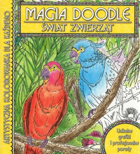 Omalovánka pro dospělé, Magia doodle - ŚWIAT ZWIERZĄT