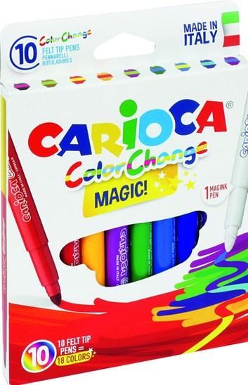 Carioca, 42737, Color change, magické fixy, 10 ks