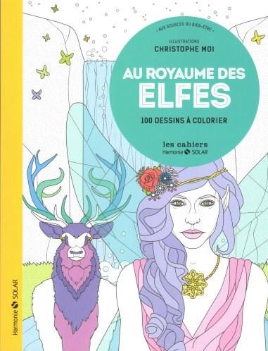 Omalovánka pro dospělé, Au royaume des elfes