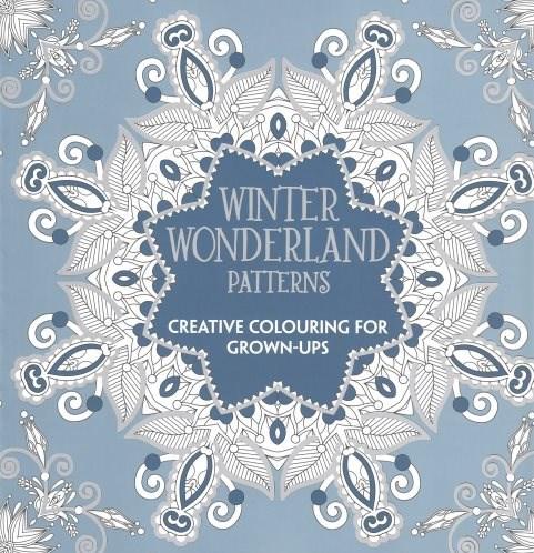 Omalovánka pro dospělé, Winter Wonderland Patterns