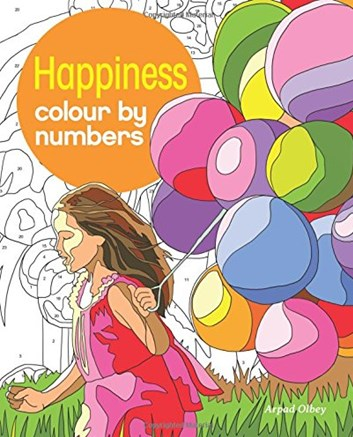 Happiness colour by numbers, Arpad Olbey