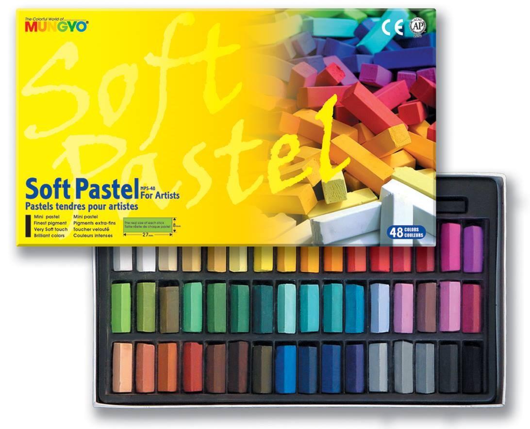 Měkké mini pastely v profesionální kvalitě, užijte si všechny barevné odstíny.