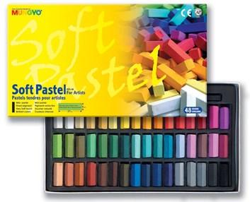 Mungyo, MPS48, Soft pastel for artist, , suchý pastel, 48 ks
