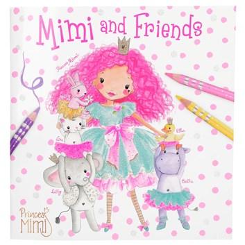 Princess Mimi, omalovánky pro holky Mimi a přátelé
