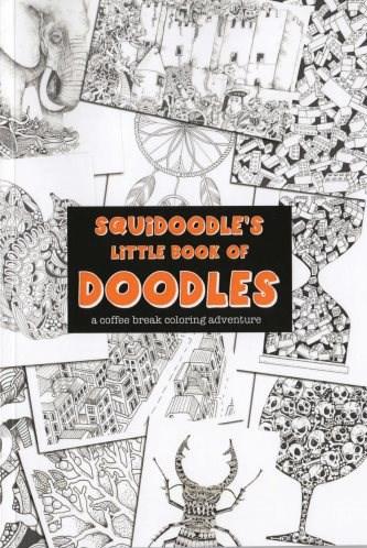 Omalovánka pro dospělé, Little Book of Doodles