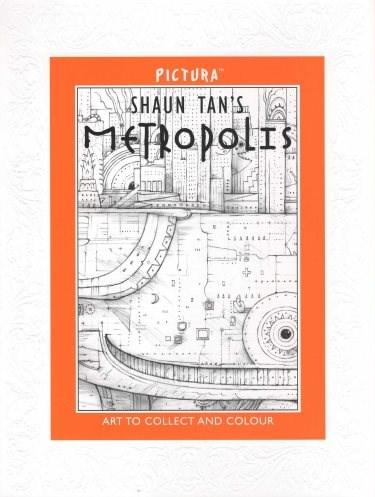 Metropolis - leporelo omalovánky