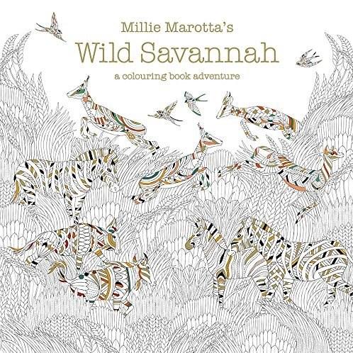 Omalovánka pro dospělé, Wild Savannah