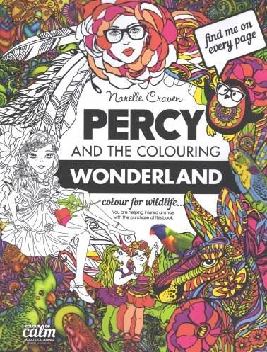 Omalovánka pro dospělé, Percy and the Colouring Wonderland