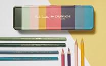 Caran d'Ache, 3888.308, Supracolor, umělecké akvarelové pastelky, limitovaná edice Paul Smith, 8 ks