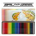 Bruynzeel, 5010M45, sada pastelek, motiv chameleon, 45 ks