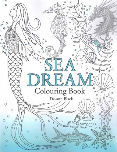 Omalovánka pro dospělé, Sea Dream