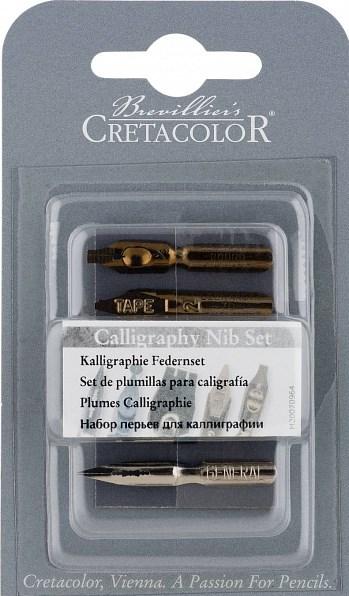 Cretacolor, 431 10, sada kaligrafických perek, 5 ks