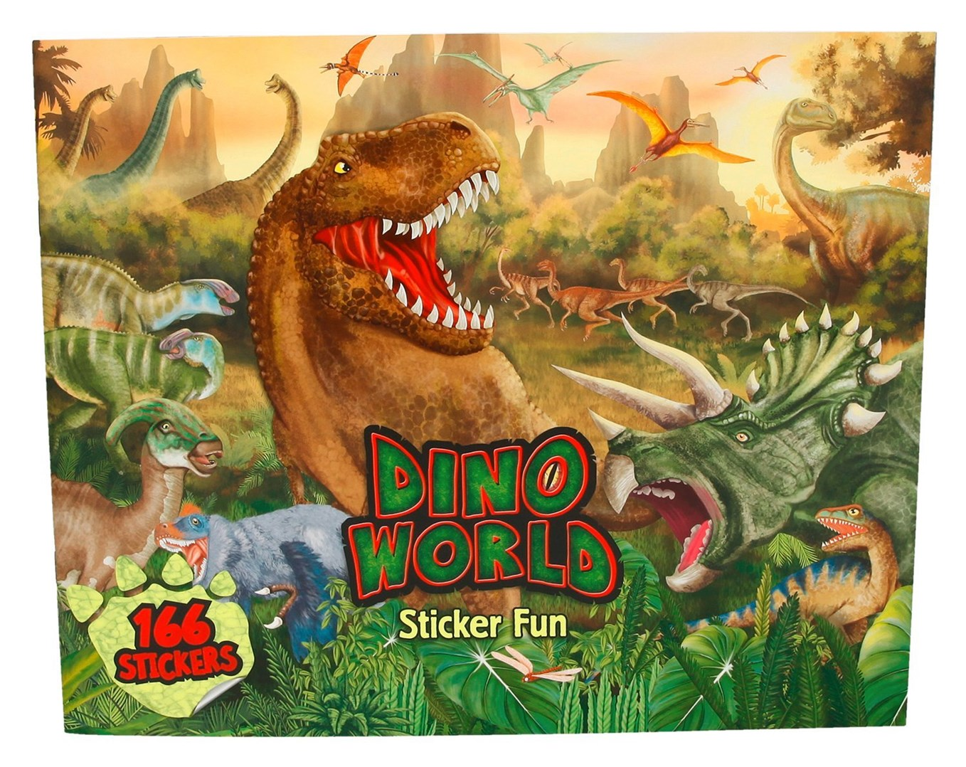 Dino world, kreativní sešit, Dino world