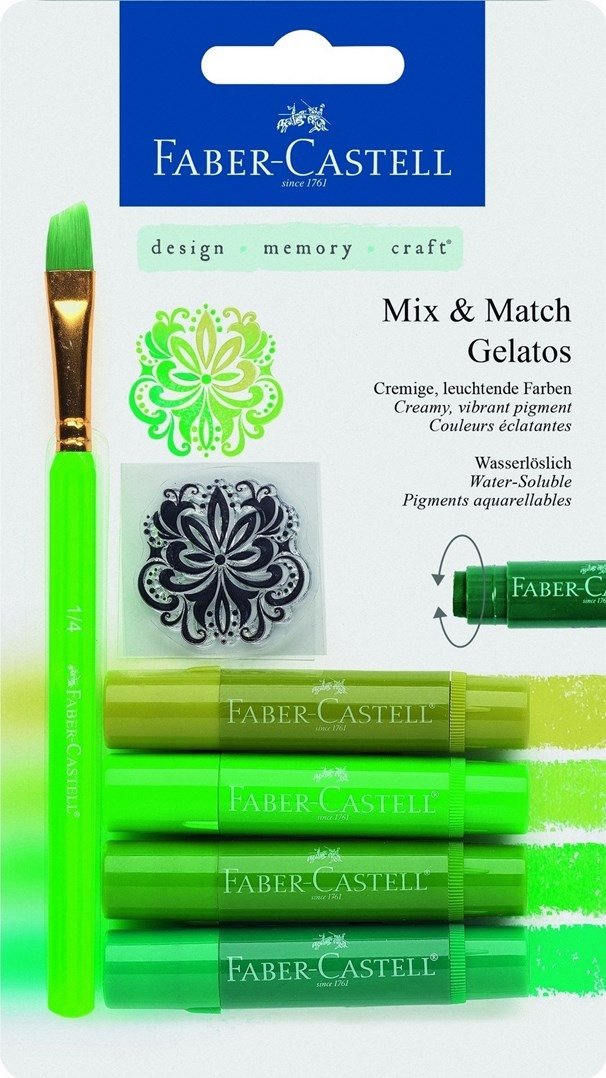 Gelatos, 4 ks a doplňky
