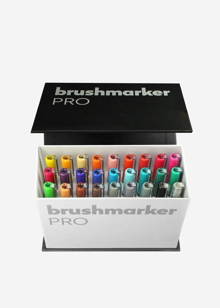 Karin, 27 C9, Brushmarker Pro Mini box, sada štětečkových popisovačů, 26 + 1 ks