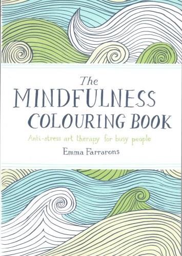 Omalovánky pro dospělé, mandaly, Mindfulness Colouring Book