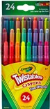 Crayola, 52-9824 24, Twistables, Fun effect, šroubovací pastelky se speciálními efekty, 24 ks