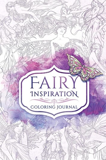 Fairy inspiration coloring journal, Selina Fenech