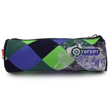 Target, 054052, školní penál, kulatý, barevné kostky
