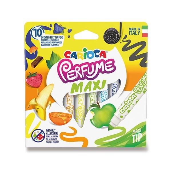 Carioca, 42989, Perfume Maxi, vonné fixy jumbo, 10 ks