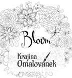 Omalovánka pro dospělé, Joyous Blooms to Colour