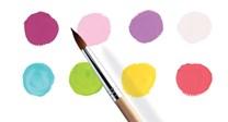 Djeco, DJ09747, sada temperových barev, sweet odstíny, 8 ks