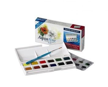Daler-Rowney, 131900000, Aquafine watercolour, umělecké akvarelové barvy, 12 barev