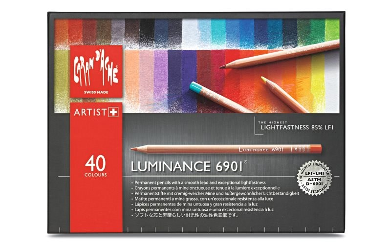 Caran d'Ache Luminance 40 kusů