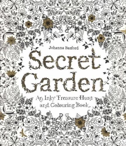 Omalovánka pro dospělé, Secret garden