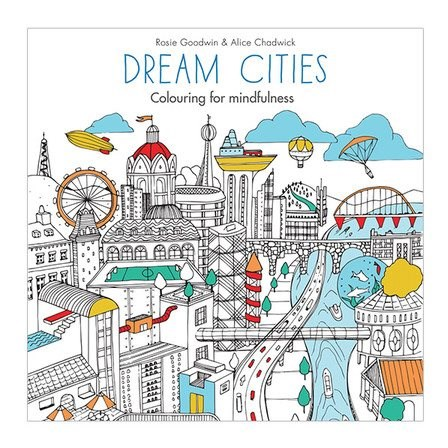 Omalovánka pro dospělé, Dream Cities