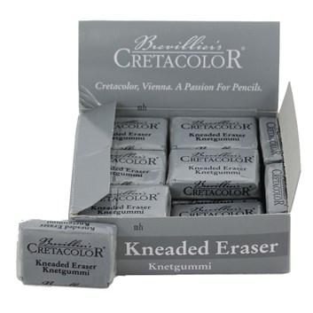 Cretacolor, 432 20, Kneaded eraser, měkká, tvarovatelná guma na uhly, pastely, 1 ks