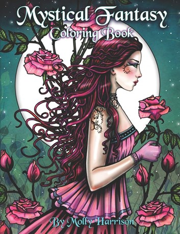 Mystical Fantasy Coloring Book, Molly Harrison