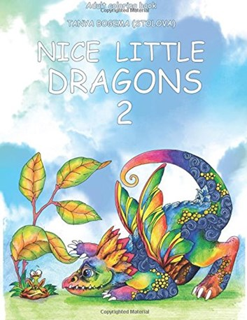 Nice little dragon 2, Tatiana Bogema (Stolova)