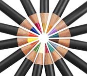 Procolour, kusové pastelky, 72 odstínů, Derwent
