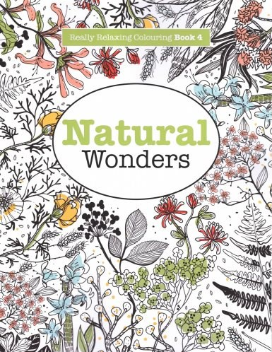 Omalovánka pro dospělé, Natural Wonders