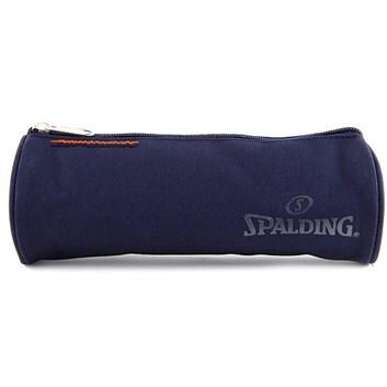 Spalding, 062437, školní penál, kulatý, tmavěmodrý