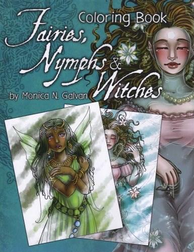 Omalovánka pro dospělé, Fairies, Nymphs and Witches