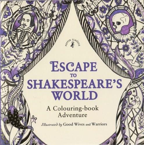 Omalovánka pro dospělé, Escape to Shakespeares World