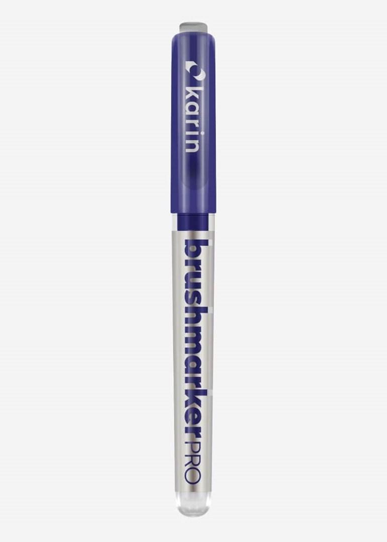 Karin, 27 C11, Brushmarker Pro, štětečkový popisovač, 1 ks, Indigo blue 169