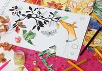 Mon Petit Art, COLIZU1, Collage motifs, omalovánka se zvířaty
