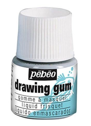 Pebeo, 033000, Drawing gum, maskovací tekutina (guma), 45 ml