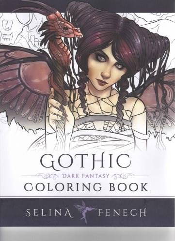 Omalovánka pro dospělé, Gothic, Dark Fantasy