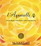 Sennelier, 131654, L´ Aquarelle, mistrovské akvarelové barvy, 14 1/2 pánviček + štětec