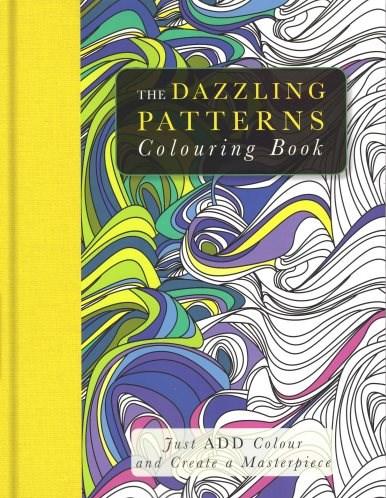 Omalovánky pro dospělé, mandaly, The Dazzling Patterns