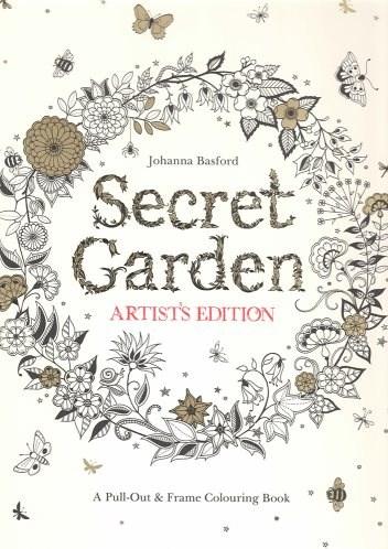 Omalovánka pro dospělé, Secret garden, Artists edition