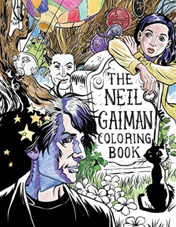 The Neil Gaiman Coloring Book,  Neil Gaiman