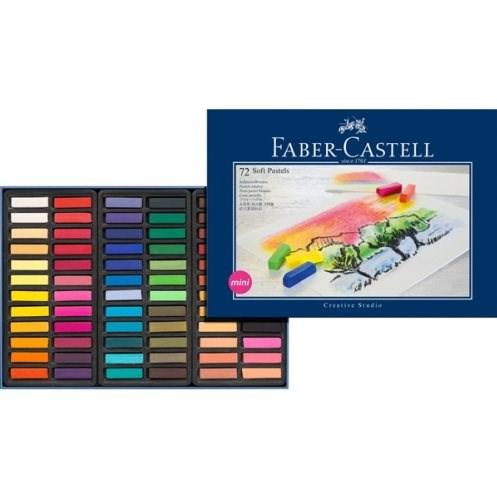 Měkké pastely Faber Castell, 72 kusů