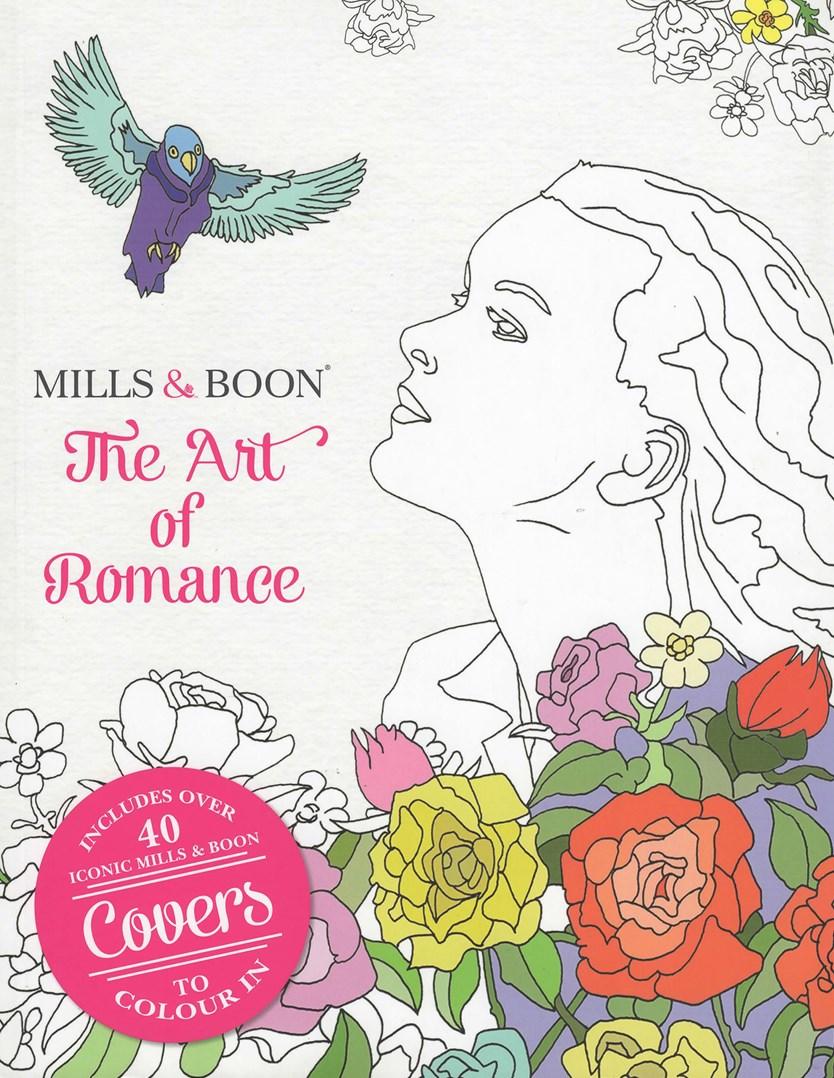 Romantika knížek Harlequin nyní v omalovánce pro dospělé.