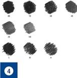 Staedtler, 61 100C, Charcoal Set, sada grafitových tužek a uhlů Mars Lumograph s příslušenstvím, 12 ks