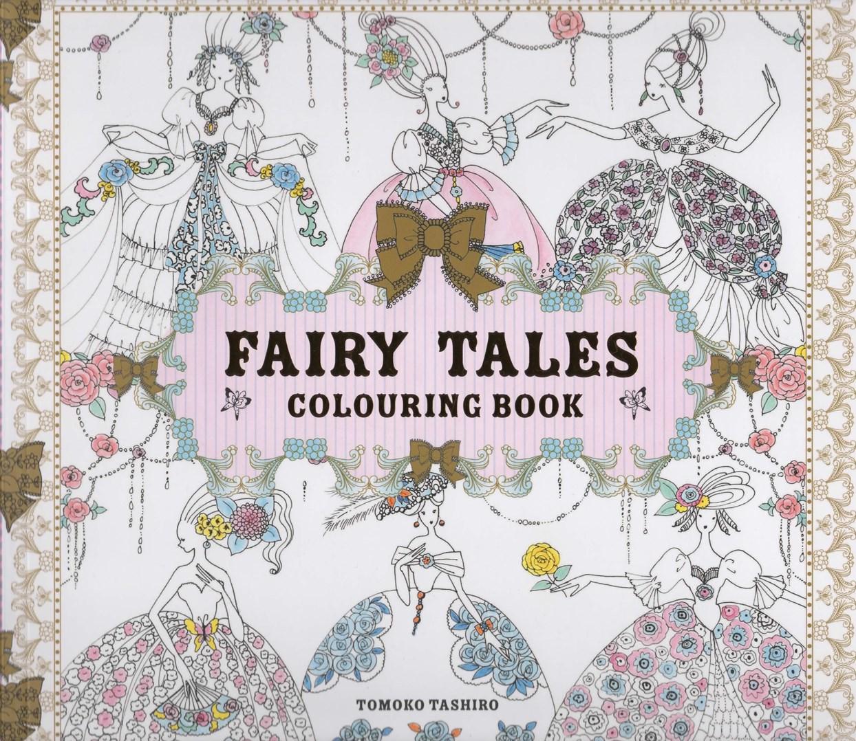 Antistresové omalovánky pro dospělé, pohádky, kreslení, Fairy Tales